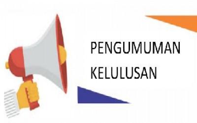 Pengumuman Kelulusan MTs Islamiyah Bumi Agung TP 2019/2020